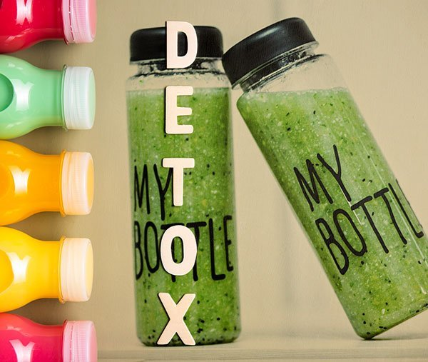 aiding the body to flush toxins