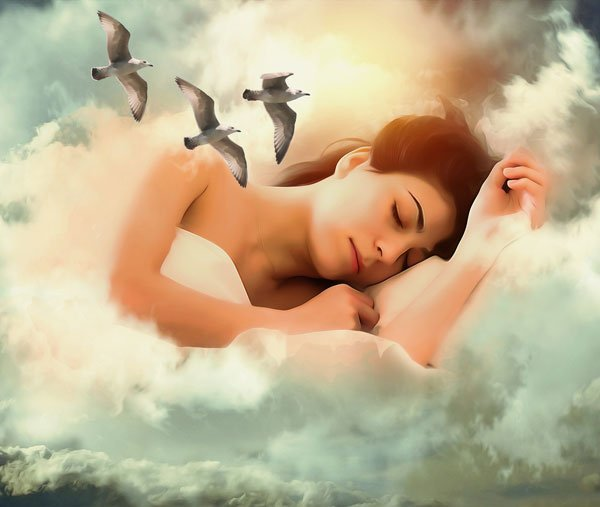 Improved sleep causes melatonin production