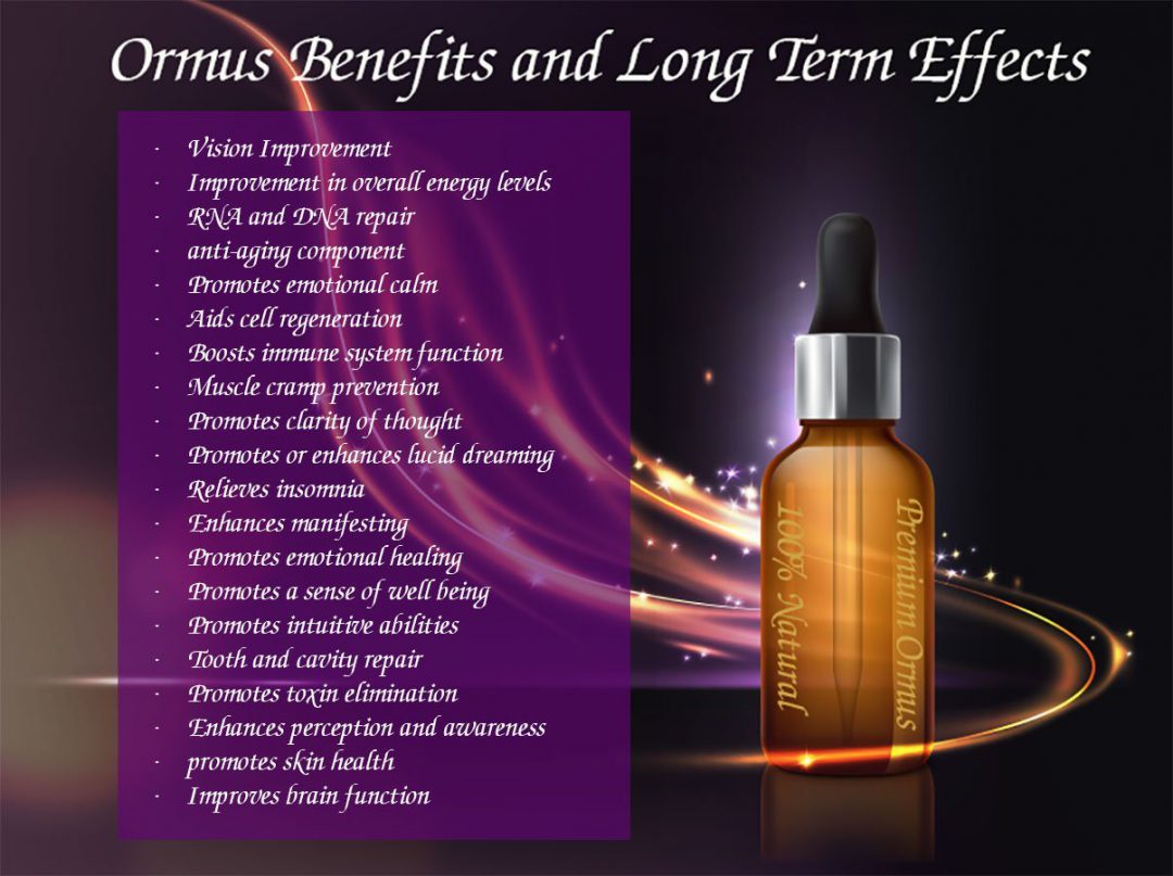 most extraordinary ormus benefits